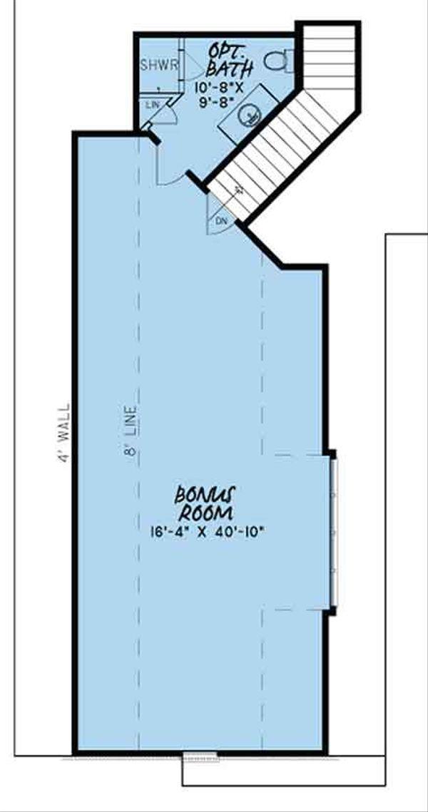 European Floor Plan - Other Floor Plan Plan #17-3398