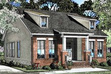Architectural House Design - Craftsman Exterior - Front Elevation Plan #17-3101