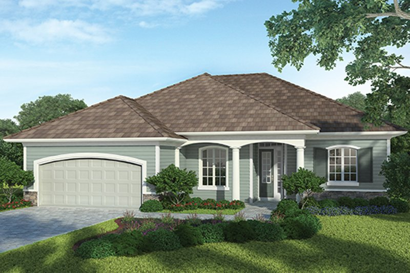 Country Exterior - Front Elevation Plan #938-32 - Houseplans.com