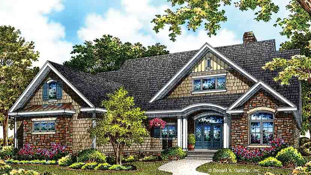 European style house plan 3 beds 2 baths 1818 sq ft plan for Weinmaster house plans