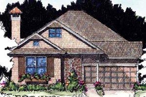 House Design - Craftsman Exterior - Front Elevation Plan #1007-59