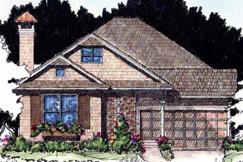 House Plan Design - Craftsman Exterior - Front Elevation Plan #1007-59