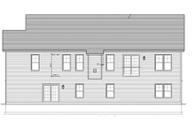 Ranch Exterior - Rear Elevation Plan #1010-70