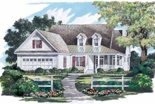 Country Exterior - Front Elevation Plan #929-711