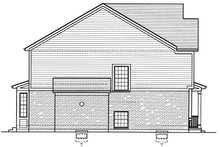 House Plan Design - Colonial Exterior - Other Elevation Plan #46-860