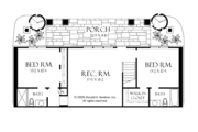 Craftsman Style House Plan - 4 Beds 4 Baths 3014 Sq/Ft Plan #929-937 Floor Plan - Lower Floor