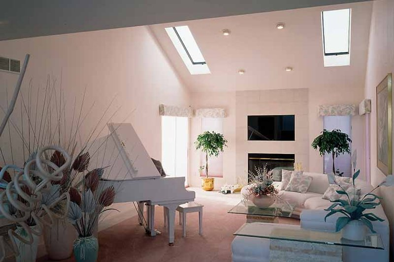 Contemporary Interior - Family Room Plan #314-228 - Houseplans.com