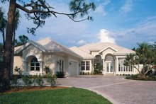 Architectural House Design - Mediterranean Exterior - Front Elevation Plan #930-24