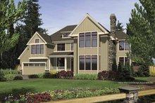 Dream House Plan - Craftsman Exterior - Front Elevation Plan #48-853