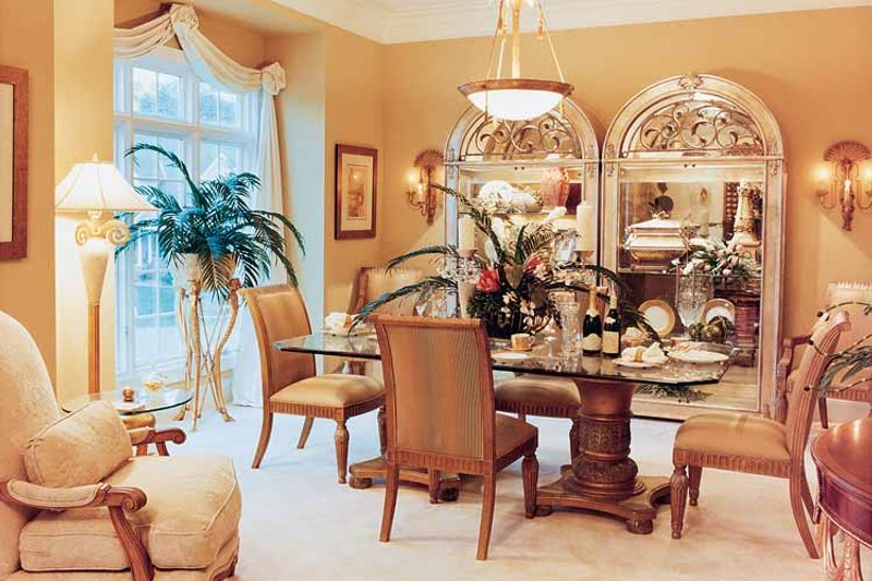 Traditional Interior - Dining Room Plan #46-567 - Houseplans.com