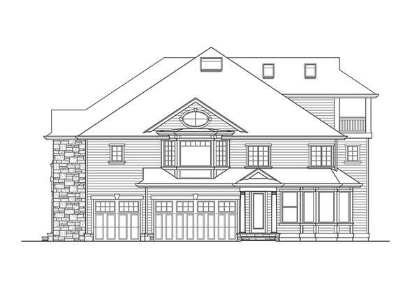 Classical Floor Plan - Other Floor Plan Plan #132-512
