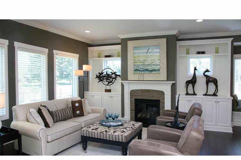 Craftsman Interior - Family Room Plan #928-194 - Houseplans.com