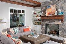 Craftsman Interior - Family Room Plan #928-282