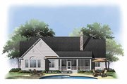 Ranch Style House Plan - 4 Beds 3 Baths 2388 Sq/Ft Plan #929-876