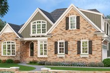 House Plan Design - Country Exterior - Front Elevation Plan #927-430