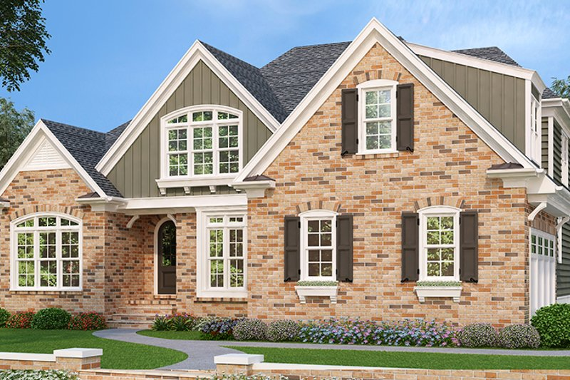 Home Plan - Country Exterior - Front Elevation Plan #927-430