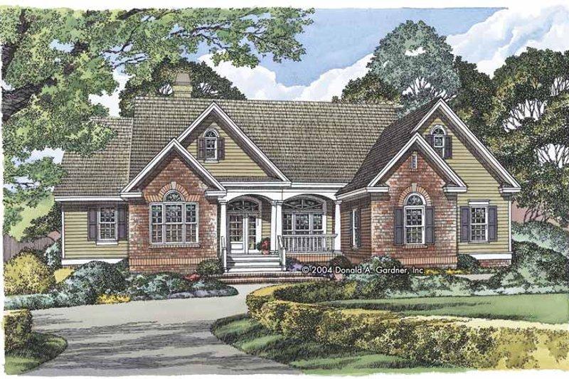 Ranch Exterior - Front Elevation Plan #929-798 - Houseplans.com