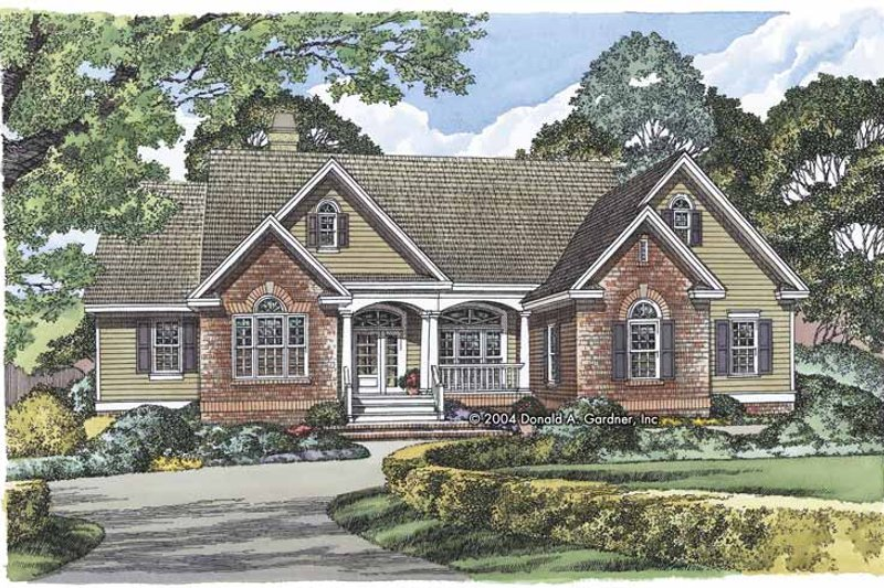 House Plan Design - Ranch Exterior - Front Elevation Plan #929-798