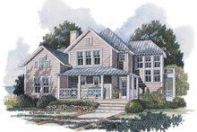 Craftsman Exterior - Front Elevation Plan #429-194
