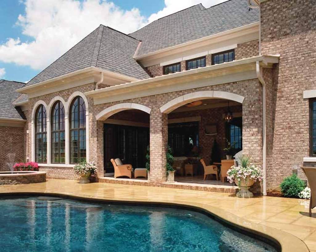 European style house plan 5 beds 5 baths 11484 sq ft for Porches login