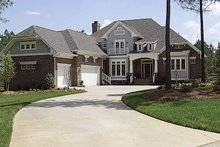 Architectural House Design - Craftsman Exterior - Front Elevation Plan #453-363