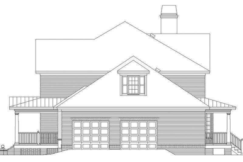 Country Exterior - Other Elevation Plan #929-886 - Houseplans.com