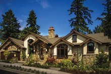 Craftsman Exterior - Front Elevation Plan #509-432