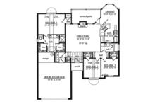 Traditional Floor Plan - Main Floor Plan Plan #42-718