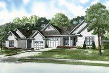 House Design - Craftsman Exterior - Front Elevation Plan #17-2828