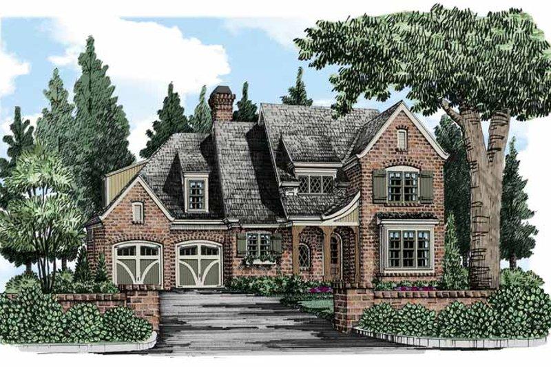 House Plan Design - European Exterior - Front Elevation Plan #927-493