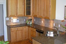 Classical Interior - Kitchen Plan #137-309