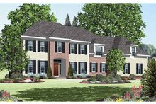 Classical Exterior - Front Elevation Plan #328-459