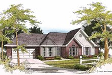 Home Plan - European Exterior - Front Elevation Plan #952-60