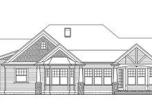 Traditional Exterior - Rear Elevation Plan #132-542