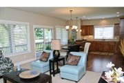 Craftsman Style House Plan - 2 Beds 2.5 Baths 2448 Sq/Ft Plan #928-196 Interior - Family Room