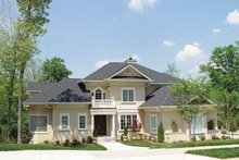 House Design - Mediterranean Exterior - Front Elevation Plan #453-439