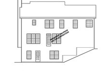 Classical Exterior - Rear Elevation Plan #927-795