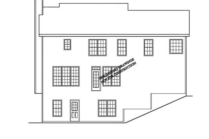 Classical Exterior - Rear Elevation Plan #927-795 - Houseplans.com