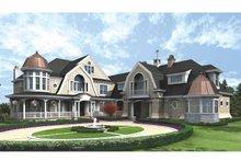 Craftsman Exterior - Front Elevation Plan #132-353