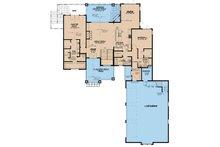 European Floor Plan - Main Floor Plan Plan #17-3394