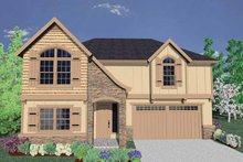 Traditional Exterior - Front Elevation Plan #509-285
