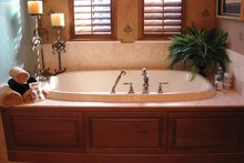 Mediterranean Interior - Master Bathroom Plan #1058-18