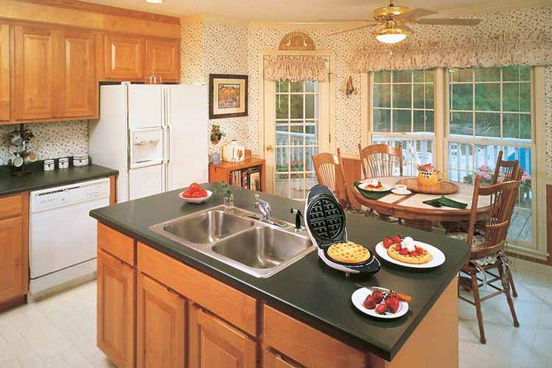 Victorian Interior - Kitchen Plan #929-155 - Houseplans.com