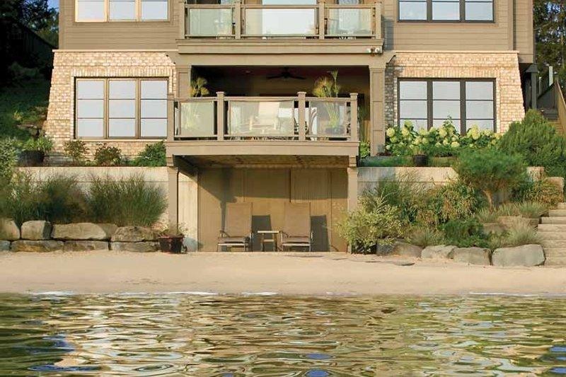 Prairie Exterior - Rear Elevation Plan #928-226 - Houseplans.com