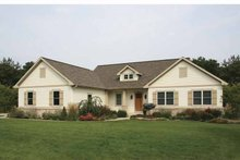 Architectural House Design - Craftsman Exterior - Front Elevation Plan #928-143