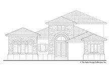 Dream House Plan - Mediterranean Exterior - Front Elevation Plan #930-449