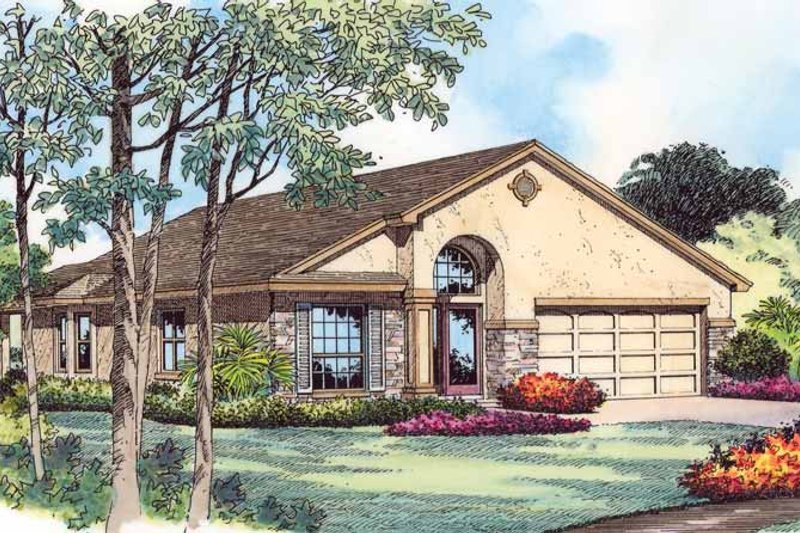 Country Exterior - Front Elevation Plan #1015-39 - Houseplans.com