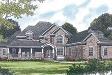 House Plan Design - Traditional Exterior - Front Elevation Plan #453-451