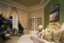 Mediterranean Interior - Master Bedroom Plan #930-194