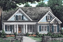 Architectural House Design - Country Exterior - Front Elevation Plan #927-901